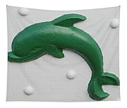 Green Dolphin Tapestry