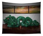 Green Dragon Tapestry