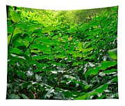 Green Foliage Tapestry
