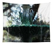 Green Fountain Tapestry