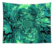 Green Irrevelance Tapestry