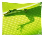 Green Lizard Tapestry