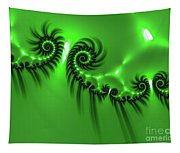 Green Mystery Tapestry