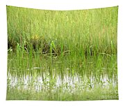 Green Reflections Tapestry