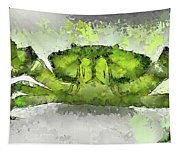 Green Shore Crab Tapestry