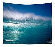 Green Wave Tapestry