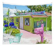 Greetings From Matlacha Island  Florida Tapestry