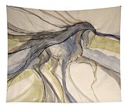 Grey And Gold Classic Tapestry