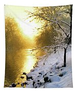 Grings Mill Fog 90-010 Tapestry