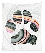 Groovy Dog Paw - Sharon Cummings  Tapestry