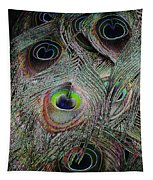 Groovy Peacock Tapestry