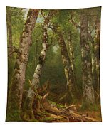 Group Of Trees Tapestry