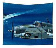 Grumman F4rf-3 Wildcat Tapestry