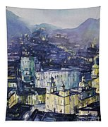 Guanajuato At Night Tapestry