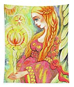 Guardian Mother Of Light Tapestry