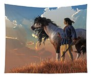 Guardians Of The Plains Tapestry