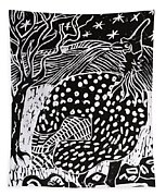 Guinea Fowl Under The Stars Tapestry