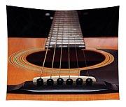 Guitar 12 Tapestry