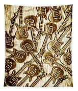 Guitar Echo Chamber Tapestry