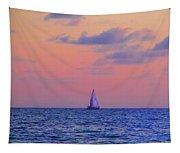 Gulf Coast Sailboat Tapestry