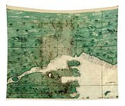 Gulf Of St Lawrence 1541 Tapestry