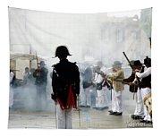 Gun Smoke Tapestry