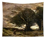 Gust Of Wind Tapestry