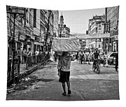 Guwahati In Black And White Tapestry