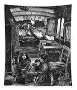 Gypsy Wagon, 1879 Tapestry