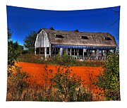 Hainesville Barn Color Tapestry