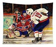 Halak Blocks Backstrom In Stanley Cup Playoffs 2010 Tapestry