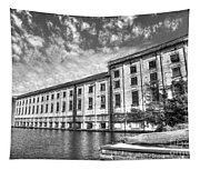Hales Bar Dam B W Tennessee Valley Authority Tennessee River Art Tapestry