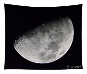 Half Moon Number 5 Tapestry