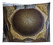 Hall Of Ambassadors - Alcazar Of Seville - Seville Spain Tapestry