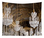 Hall Of Mirrors Palace Of Versailles France Tapestry