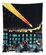Halleys Comet, 1910 Tapestry