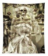 Halloween Mrs Bones The Bride Vertical Tapestry