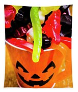 Halloween Party Details Tapestry