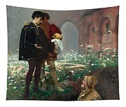 Hamlet And The Gravediggers Tapestry
