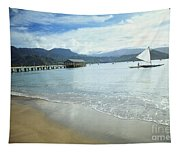 Hanalei Bay Outrigger Tapestry
