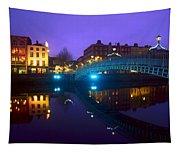 Hapenny Bridge, Dublin, Ireland Tapestry