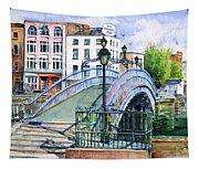 Ha'penny Bridge Dublin Tapestry