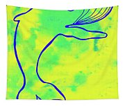 Happier Humpback 1 Tapestry