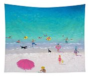 Happy Beach Days Tapestry