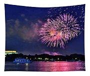 Happy Birthday America # 2 Tapestry
