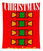 Happy Christmas 14 Tapestry