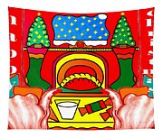 Happy Christmas 17 Tapestry