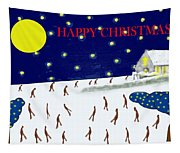 Happy Christmas 27 Tapestry