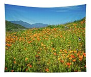 Happy Days In Walker Canyon Tapestry