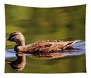 Happy Duck Tapestry